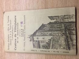 Centres De Villégiature De Haute Savoie / Annecy - Guide 1939 - Tourism Brochures