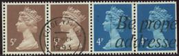 GB 1988 Yv. N°1326b - 5p + 5p + 4p + 4p Se Tenant - Oblitéré - Machins