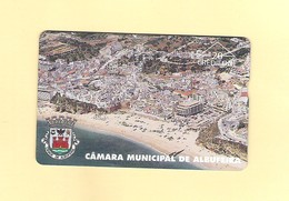 "PHONECARD - PORTUGAL PT077 ""C.M. ALBUFEIRA""  609L - 20U -  EX:5.000 - NEW/NOT USED - Portugal"