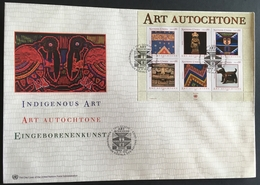 United Nations Geneva 2003 Indigenous Art F.D.C. - Stamps