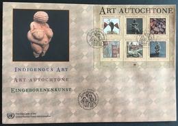 United Nations Geneva 2004 Indigenous Art F.D.C. - Stamps