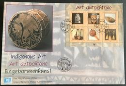 United Nations Geneva 2006 Indigenous Art F.D.C. - Stamps