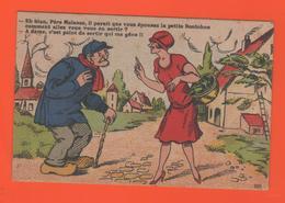 ET/181 HUMOUR Eh Bien Père Molasse, Il Parait Que Vous épousez La Petite Bonichon - Edit.J. Nozais / Couple Femme Homme - Humour