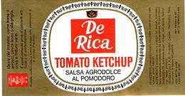 B 1827 - Etichetta, De Rica - Frutta E Verdura