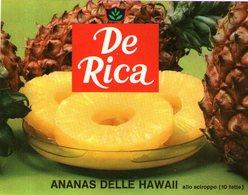 B 1828 - Etichetta, De Rica - Frutta E Verdura