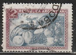 Argentina 1936 - Fruit - Agricoltura   Frutta   Raccolti   Vino - Argentina