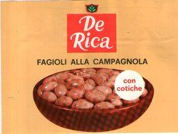 B 1830 - Etichetta, De Rica - Frutta E Verdura