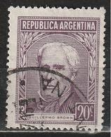 Argentina 1956 - Guillermo Brown - Ammiragli   Persone Famose   Uomini - Argentina