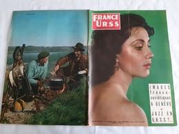 France URSS Magazine N° 120 Septembre 1955 Rencontre KROUTCHEV EISENHOVER à Génève, Projet Satellite Spoutnik - General Issues