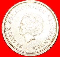 √ BEATRIX (1980-2013): NETHERLANDS ANTILLES ★ 1 GULDEN 1991! LOW START ★ NO RESERVE! - Netherland Antilles