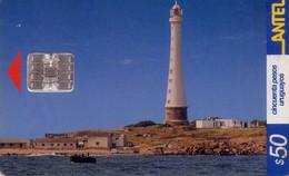 TARJETA TELEFONICA DE URUGUAY. 213a (FARO DE ISLA DE LOBOS) (251) - Uruguay