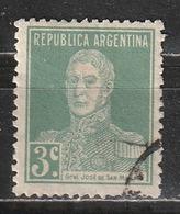 Argentina 1923 - José Francisco De San Martín - Combattenti Per La Libertà   Eroi   Generali   Persone Famose - Argentina