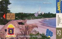 TARJETA TELEFONICA DE URUGUAY. 267a (ATLÁNTIDA, CANELONES) (253) - Uruguay