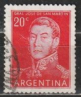 Argentina 1854 - José Francisco De San Martín - Combattenti Per La Libertà   Eroi   Generali   Persone Famose - Argentina