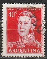 Argentina 1856 - José Francisco De San Martín - Combattenti Per La Libertà   Eroi   Generali   Persone Famose - Argentina