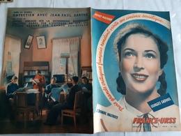 France URSS Magazine N° 90 FEVRIER 1953  JEAN PAUL SARTRE 10 EME ANNIVERSAIRE DE STALINGRAD - General Issues