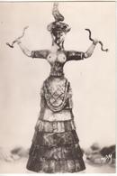 La Prêtresse Aux Serpents  Musée De Candie - Sculptures