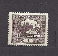 Czechoslovakia Tschechoslowakei 1919 MNH ** Mi 18 C Gez. Sc 23  Hradcany At Prague. C5 - Tschechoslowakei/CSSR