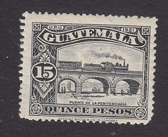 Guatemala, Scott 216, Mint Hinged, Bridge, Issued 1924 - Guatemala