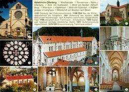 73232332 Otterberg Abteikirche Altarraum Langhaus  Otterberg - Alemania