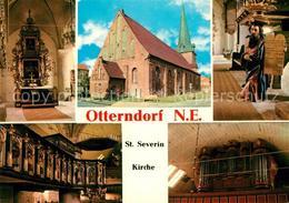73232453 Otterndorf_Niederelbe Sankt Severin Kirche Otterndorf Niederelbe - Alemania