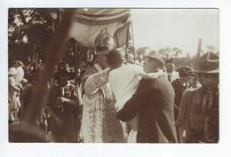 CPA Dieppe Janval Animée Carte Photo Fête Inauguration Et Procession église Du Sacré Coeur 1926 - Dieppe