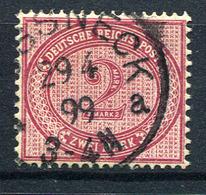 41147) DEUTSCHES REICH # 37 A Gestempelt GEPRÜFT Aus 1875, 180.- € - Alemania