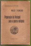 Portugal - Preparação De Portugal Para A Guerra Europeia, 1915 - Colégio Militar - 1ª Guerra Mundial - Lisboa - Old Books