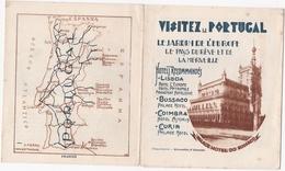 PORTUGAL BROCHURE - HOTELS RECOMMANDÉS - LISBOA - BUSSACO - COIMBRA - CURIA - Tourism Brochures