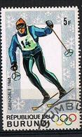BURUNDI 1968 - YT 260 - Olympic Winter Games Grenoble - Oblitéré - 1962-69: Afgestempeld