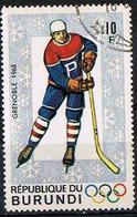 BURUNDI 1968 - YT 261 - Ice Hockey - Oblitéré - 1962-69: Afgestempeld