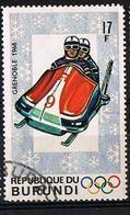 BURUNDI 1968 - YT 263 - Olympic Winter Games Grenoble - Oblitéré - Burundi