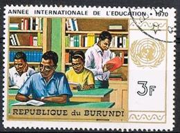 BURUNDI 1970 - YT 419 - International Year Of Education - Oblitéré - Burundi