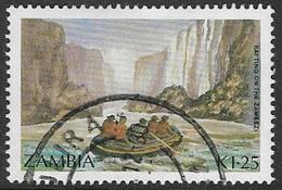 Zambia SG504 1987 Tourism 1k.25 Good/fine Used [37/30812/2D] - Zambia (1965-...)