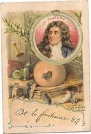 CHROMO Les Signatures De Personnages Célèbres - JEAN DE LA FONTAINE  1621/1695 - BARA1 - - Cromos