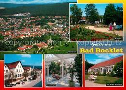 73232512 Bad_Bocklet Fliegeraufnahme Am Neuen Kurhaus Wandelhalle Kurpark Haupts - Unclassified