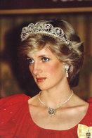 (NZ80-067)  Diana Princess Of Wales  British Royal Family  , Pre-stamped Card Postal Stationery-Postsache - Royalties, Royals