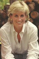 (NZ80-077)  Diana Princess Of Wales  British Royal Family  , Pre-stamped Card Postal Stationery-Postsache - Royalties, Royals