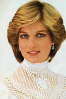 (NZ80-082)  Diana Princess Of Wales  British Royal Family  , Pre-stamped Card Postal Stationery-Postsache - Royalties, Royals