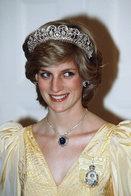 (NZ80-087)  Diana Princess Of Wales  British Royal Family  , Pre-stamped Card Postal Stationery-Postsache - Royalties, Royals
