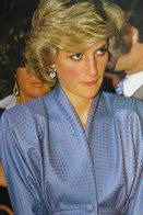 (NZ80-090)  Diana Princess Of Wales  British Royal Family  , Pre-stamped Card Postal Stationery-Postsache - Royalties, Royals