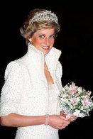 (NZ80-093)  Diana Princess Of Wales  British Royal Family  , Pre-stamped Card Postal Stationery-Postsache - Royalties, Royals