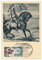 FRANCE - Carte Maximum - Histoire De France :  Vercingétorix - Cachet Premier Jour - Clermont Ferrand - 1966 - Maximum Cards