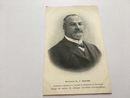 AU -2100 -DOCTEUR E.J. MOURE -Professeur Adjoint à La Faculté De Médecine De Bordeaux -Oto-Rhino-laryngolo - Health