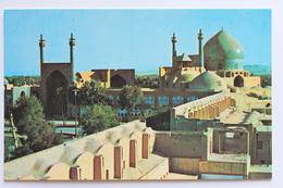 The Mosques Of Isfahan, Iran, Pan American Postcard - Iran
