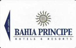 Bahia Principe Hotel Dominican Republic - Hotel Room Key From 2012 - Hotel Keycards