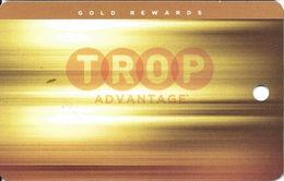 Tropicana Casino - Evansville, IN - BLANK Gold Rewards Slot Card - Casino Cards