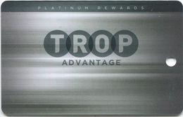 Tropicana Casino - Evansville, IN - BLANK Platinum Rewards Slot Card - Casino Cards