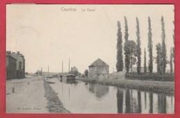 Kortrijk - Kanaal ... Binnenschipen -190? ( Verso Zien ) - Kortrijk