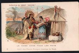 (Amérique Indiens ) Collection Du Sirop ROCHE  11 : Calli Des Peaux-Rouges   (PPP12589L) - Old Paper